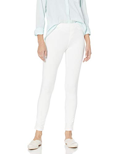 No Nonsense Women's Denim Legging, White, X-Large