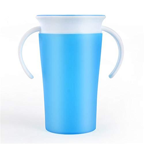 4 STUKS Miracle 360 Sippy Cup, kinderen leren bekers te drinken, geschikt voor baby's die net leren eten