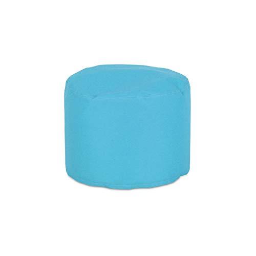 knorr-baby 440102 - Sgabello rotondo, misura M, colore Blu petrolio