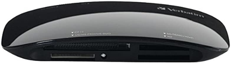 Wholesale CASE of 10 - Verbatim USB 2 Universal Card Reader-Universal Card Reader, USB 2.0, Black