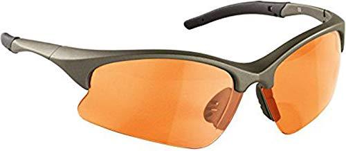 Sportbrille mit 3 Paar Wechselgläserin, verschiedenen Farben und Modellen wählbar Brille (Gold (Matt))