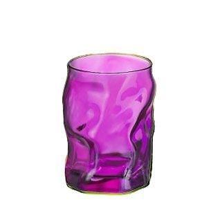 Juego de 3 Vasos Vaso ROSA Agua 30cl MADE IN ITALY Bormioli Rocco Modelo Fuente cod.9129
