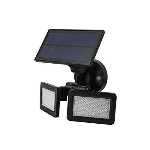 Shunsong shop Outdoor Solar Mikrowelle Radar der Induktions-LED Wandleuchte, 360-Grad-Sensor-Wandleuchte Schwarz