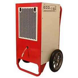 Ebac 10531gr-Us Dehumidifier For Commercial/Residential Pump Eco150, 7 Amps, 384 Cfm, 80 Pints