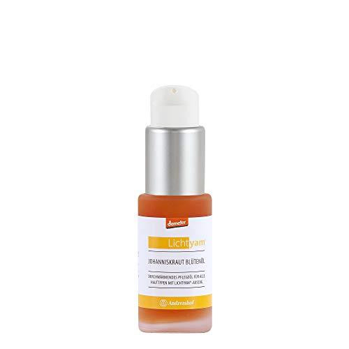 Johanniskraut Blütenöl Körperöl Gesichtsöl Pflegeöl Kosmetik Demeter Bio Lichtyam® Naturkosmetik Biokosmetik vegan Gesichtspflege Körperpflege, Inhalt:30 ml