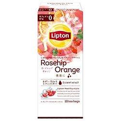 リプトン ヘルシースタイル ローズヒップ・オレンジ ティーバッグ 10袋×6個入×(2ケース)