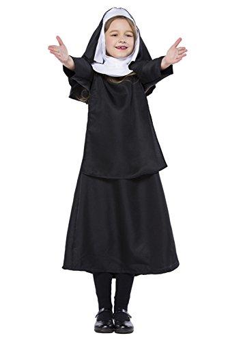 Disfraz de Pastor para mujer, disfraz de Jesucristo Pastor Misionero para Halloween