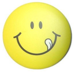 Chic Funny Smile Emoticon Pin Badge Button 1.75 Inches #8