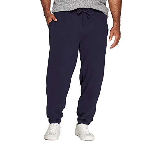 Goodfellow & Co Men's Big & Tall Fleece Cinched Jogger Pants - (Xavier Navy, 4XB)