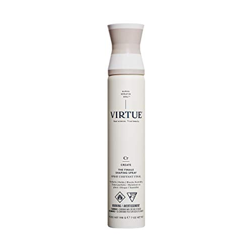 VIRTUE Shaping Spray 7 OZ | Alpha Keratin Perfects, Holds, Blocks Humidity | Sulfate Free, Paraben Free, Color Safe