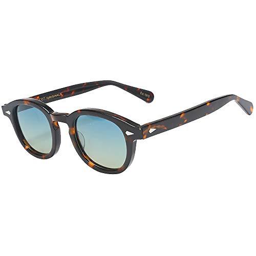 SHEEN KELLY Pirate Captain Johnny Depp Style Gafas de sol ovaladas de plástico Moda Hombres y mujeres Gafas de sol vintage Gafas de sol de graduación Lente
