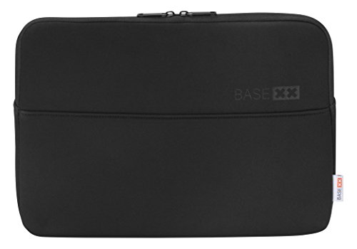 Dicota Base XX S 15.6 Black This Sleeve Made from Synthetic Neoprene surro&s Your Notebook Like a Second Skin. The Perfect-Fitting case Provides Protection Again Scratches and Minor Damage.