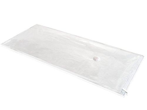 Leifheit Vakuumbeutel groß 2er Set, Vakuumier Beutel für Kleidung, Wäscheaufbewahrung schützt vor Motten, Staub und Geruch, reduziert den Platzbedarf um 75%, abwaschbare Aufbewahrungsbeutel