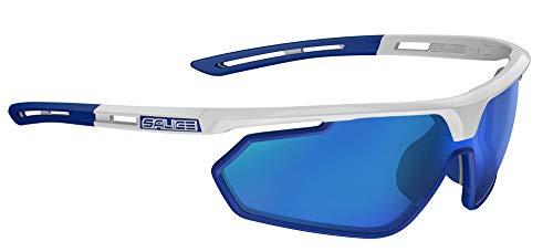 Salice 018rw zonnebril unisex volwassenen, wit/blauw