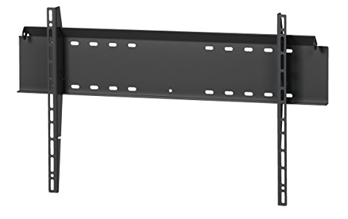 MOUNT MASSIVE MFL 100 TV Wandhalterung für 40-100 Zoll Fernseher, Starr und neigbar bis 8°, Universelle Kompatibilität, Fernsehalterung für die Wand, Max. 100 kg, VESA max. 750 x 450, Schwarz