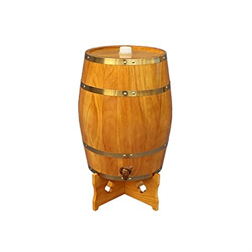 DJDLLZY Barriles de fabricación de vinos, Barril de Vino Personalizado, Barril de Roble, Edad su Propio Tequila, Whisky, Ron, Bourbon, Vino (Color : A, Size : 30L)