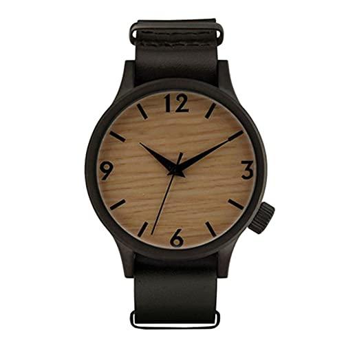 Reloj de Madera de Moda RelojDeportivo Reloj de Pulsera Informal de Madera y bambú Relojes de Pulsera de montre pourNuevo A