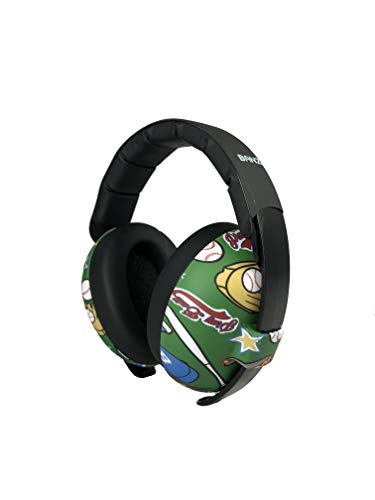Baby Banz Earmuffs Infant Hearing Protection – Ages 0-2+ Years – Industry Leading Noise Reduction Rating – Soft & Comfortable – Baby Ear Protection