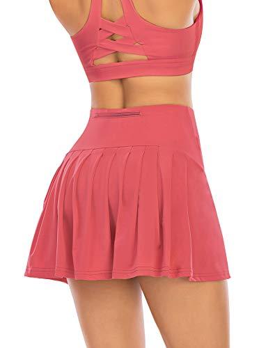 Women's Tennis Skirt with Pockets A…