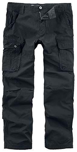 Vintage Industries Reef Pants Männer Cargohose schwarz L 100% Baumwolle Basics, Streetwear