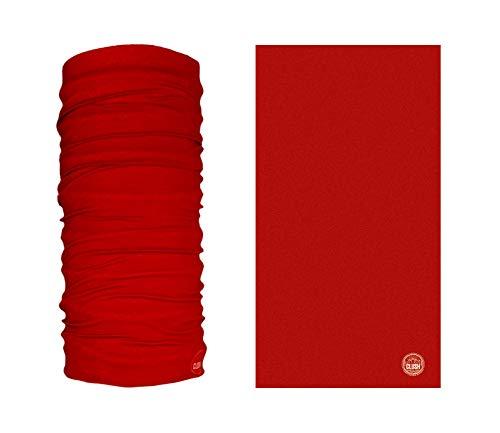 CLUSH El Paso - Bedrucktes Multifunktionstuch Bandana Halstuch Kopftuch: Face Shield- Material ist flexibel und atmungsaktiv - Maske fürs Motorrad-, Fahrrad- und Skifahren, für Damen und Herren