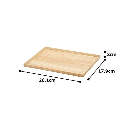 TAMAKIトレーウォームズ直径41×奥行30×高さ2cm木製T-760130