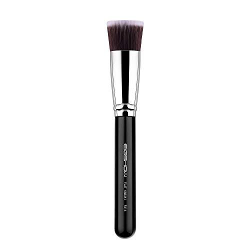 EIGSHOW Foundation Make Up Pinsel mit flacher Spitze - Kabuki Schminkpinsel für Mineralpuder, flüssige Grundierung, Creme - Grundierung Auftragen, Concealer verblenden, weiche Gesichtsbürste (F614)