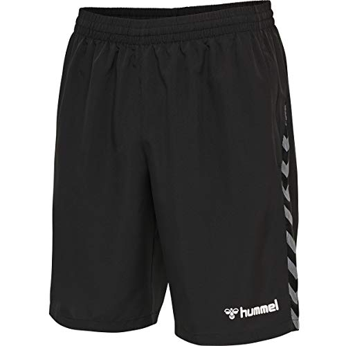 Hummel Herren Hmlauthentic Training Shorts, Black/White, XL EU