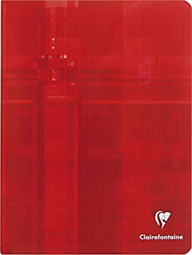 Clairefontaine 3997C - Un cahier d'écriture piqué 'Clairenfantine' 32 pages 17x22cm 90g lignées DL 5 mm, couverture carte pelliculée couleur aléatoire