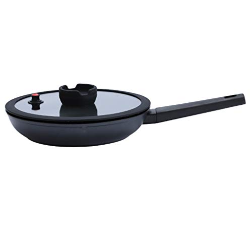 SPNEC Antihaft-Pfanne Kein Öl-Rauchgefäß Haushaltspfanne Universal-Induktionsherd Gasherd Bratpfanne Küchentopf