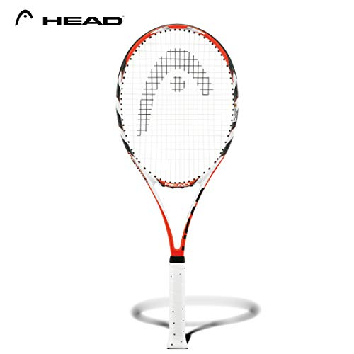 Head MicroGel Radical MP Raqueta de Tenis – Raqueta Intermedia para Adultos de 27 Pulgadas – 4 3/8 Agarre
