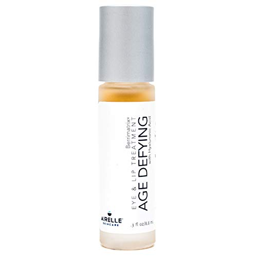 Age-Defying Eye and Lip Treatment by Airelle | Anti Aging, Helps Reduce Wrinkles, Fine Lines | Dermatologist Recommended | Hyaluronic Acid, Berrimatrix | Natural Ingredients | .3 Fl Oz