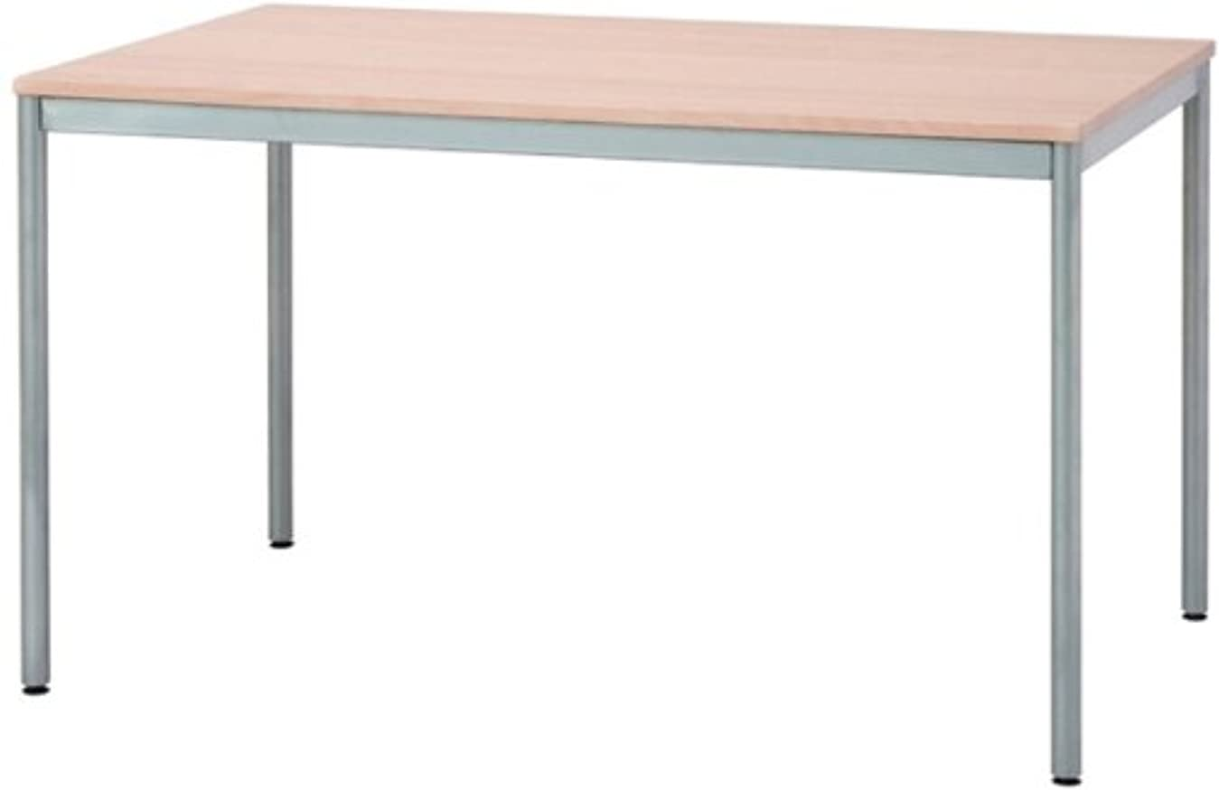 振動する消去外出ナカバヤシ テーブル オフィスデスク 120x75cm ナチュラル木目 HEM-1275NM