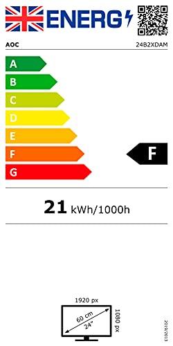 AOC 24B2XDAM – 24 Zoll FHD Monitor (1920×1080, 75 Hz, VGA, DVI, HDMI) schwarz - 18