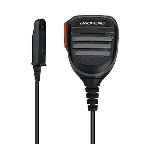 Altavoz resistente al agua Mic PTT hombro Altavoz remoto micrófono de mano para Walkie Talkie UV 9R Plus UV 9R ERA BF-A58 radio bidireccional HT750 PRO5150 GP328 GP338 GP340 GP380 GP320