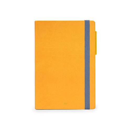 Legami - Agenda Settimanale, 12 Mesi con Notebook, giallo