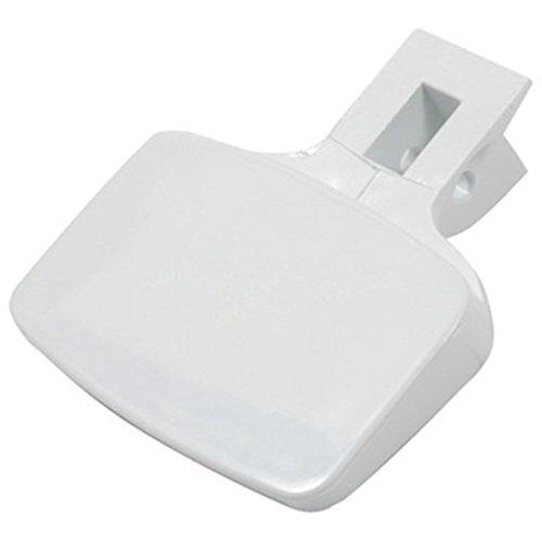 Spares2go Blanc Poignée de porte à levier pour Haier machine à laver