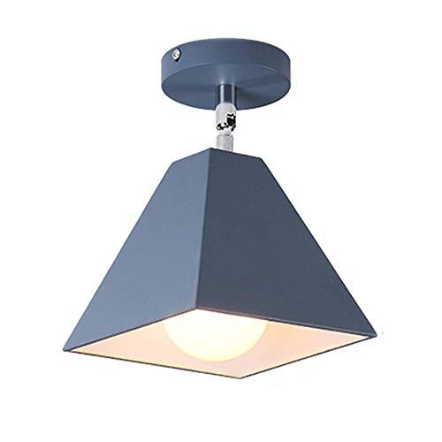 Lámpara nórdica moderna minimalista creativa lámpara de techo focos pasillo pasillo lámpara de pared sala de estar lámpara de techo. 1 (Color: B, Diseño: 1)