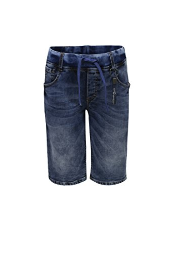 Lemmi Jungen Shorts Bermudas Jeans Boys MID 1880338023, Gr. 140, Blau (Dark Blue Denim|Blue 0013)