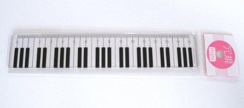 プラスチック加工専門店 【井上製作所】 mini冗規〈定規〉シリーズ  (MJ-001) ♡ピアノをモチーフにし...