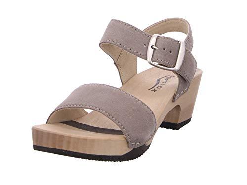 Softclox S3380 KEA Kaschmir - Damen Schuhe Sandaletten - 29-Schlamm, Größe:38 EU