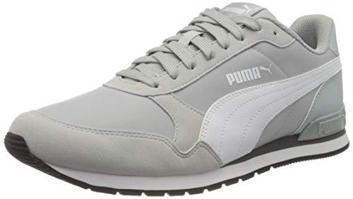 PUMA Unisex-Erwachsene St Runner V2 Nl Sneaker, Grau (High Rise-Puma White-Castlerock 24), 43 EU