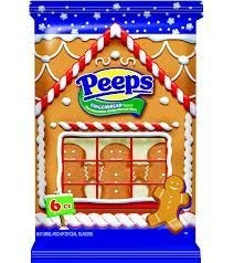 Gingerbread Flavored Marshmallow Peeps Gingerbread Men