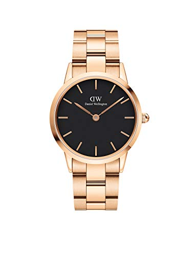 Daniel Wellington Iconic Link Rose Gold Watch, 32mm, Stainless Steel, for Men and Women