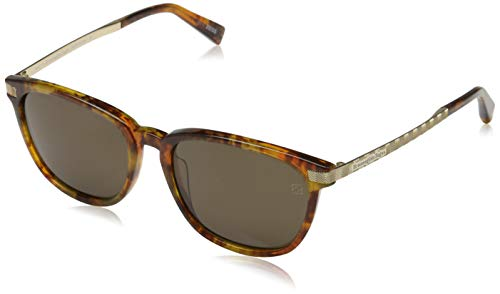 Ermenegildo Zegna Sonnenbrille EZ0039 Occhiali da Sole, Arancione (Orange), 54.0 Uomo