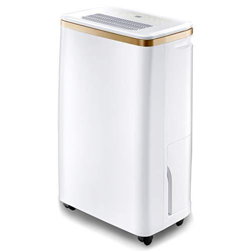 YLG dehumidifier Gast Schlafzimmer Dual-Use-Silent-Luftentfeuchter, Keller High-Power-Luftfeuchtigkeitsaufnahme Trockner -2.5l Wassertank Intelligente Feuchtigkeitsregelung