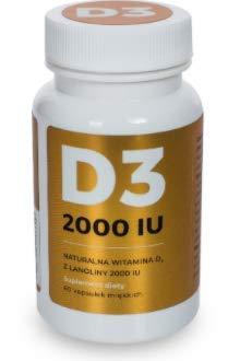 Vitamin D Visanto Natural from Lanolin Jerzy Zieba Witamina D