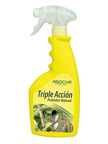 ASOCOA - Triple Acción Insecticida, Fungicida y Acaricida. Antiplagas Ecológico para Todo Tipo de Plantas.