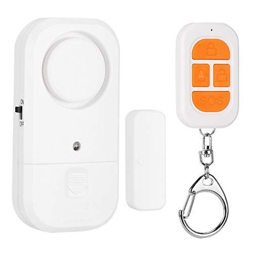Sistema de seguridad de alarma antirrobo Kit de bricolaje de seguridad para el hogar Interruptor de sensor magnético de larga duración en espera, para control de acceso, para antirrobo