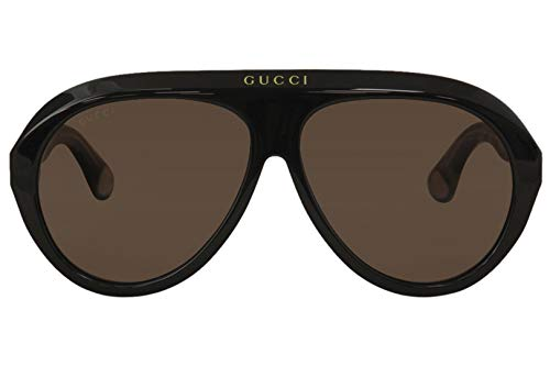 Fashion Shopping Sunglasses Gucci GG 0479 S- 001 Black/Brown, 61-13-145